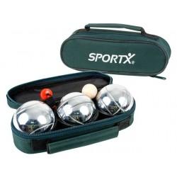 Sportx jeu de boule 3/set tas