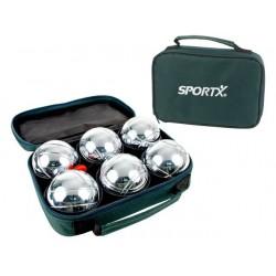 Sportx jeu de boule 6/set tas