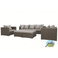 Wicker Loungeset Damascus