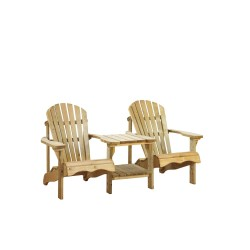 Canadian tete-a-tete deckchair